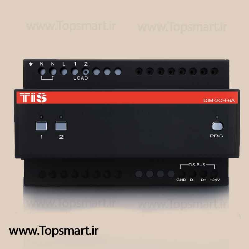 Dimmer module 2 channel 6A