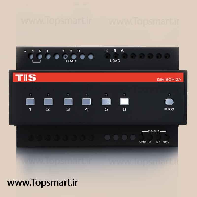Dimmer module 6 channel 2A